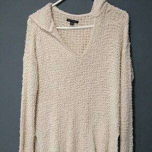 American Eagle shaggy hoody sweater size S